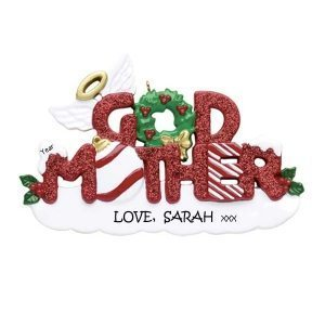 Godmother Personalised Christmas Ornament