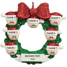 Candy Cane House 7 Personalised Christmas Ornament