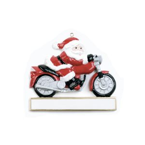 Motorcycle personalised Christmas Ornament