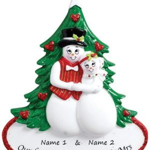 First Christmas as Mr. & Mrs. Personalised Christmas Ornament