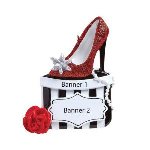 Holiday Shoes Personalised Christmas Ornament