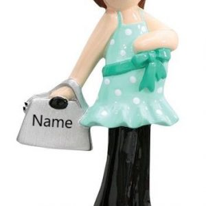 Pregnant Personalised Christmas Ornament